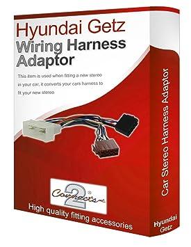 Hyundai Getz Cd Radio Stereo Wiring Harness Adapter Amazon Co Uk