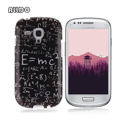 9 opinioni per AllDo Custodia in Silicone per Samsung Galaxy S3 Mini i8190 Cover Gomma TPU