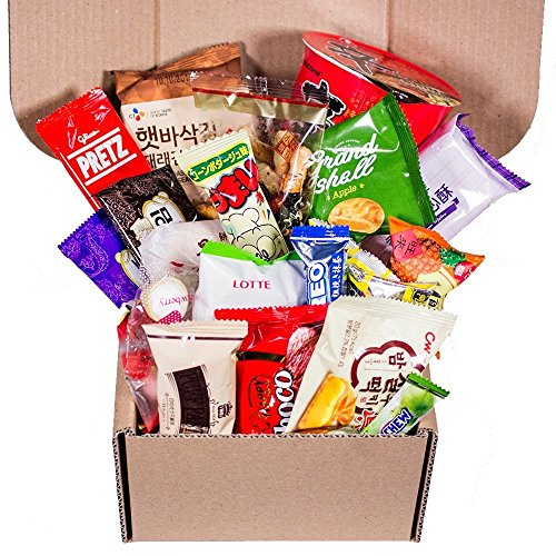 Classic Asian Snack Box | Japanese Snacks Japanese Candy | Korean Snacks | Chinese Snacks | College Care Package| Travel Snacks and Junk Foods
