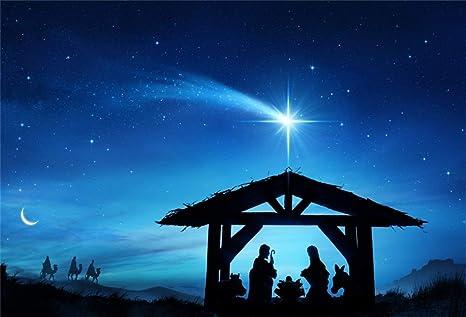 Merry Christmas Jesus.Amazon Com Leyiyi 10x6 5ft Merry Christmas Jesus Christ