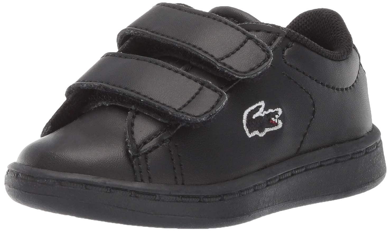 Medium US Toddler 9.5 Lacoste Baby Carnaby EVO Sneaker Black