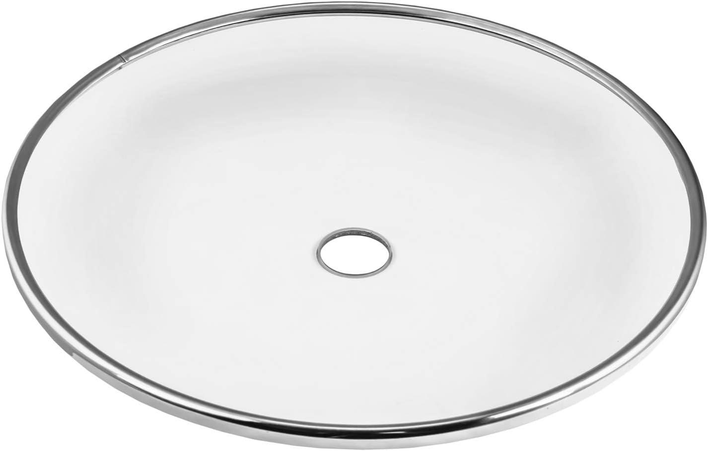 Sultan - Plato de carbón para Shisha (Cristal, Acero Inoxidable V2A, 20 mm, 20 cm, Vidrio de borosilicato)