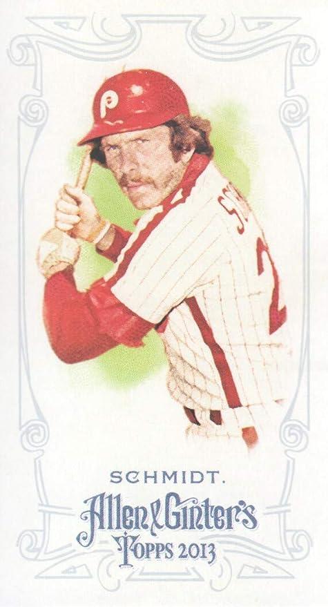 2013 Topps Allen and Ginter Baseball Mini  143 Mike Schmidt ... 24094fe24