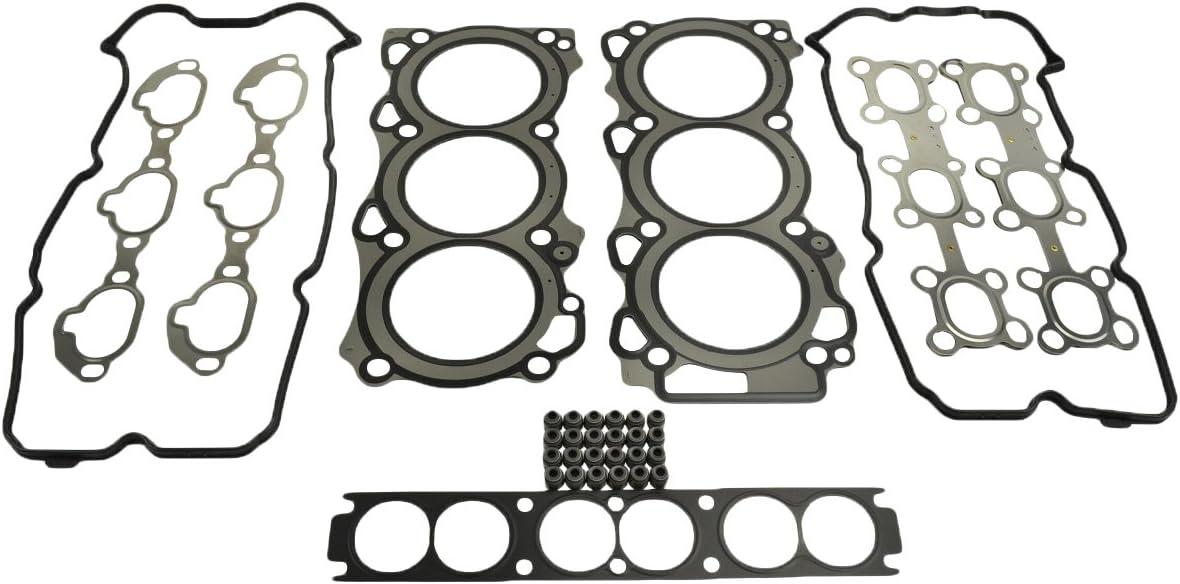 VK56DE Armada Pathfinder QX56 Titan ITM Engine Components 09-11952 Cylinder Head Gasket Set for Nissan//Infiniti 5.6L V8