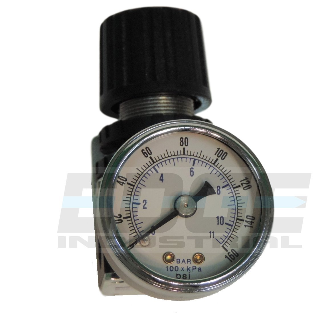 ADJUST 7 TO 140 PSI MINI PRESSURE REGULATOR FOR COMPRESSED AIR SYSTEMS 1//4 NPT PORTS
