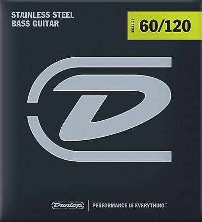 extra heavy Drop Dunlop DBS60120 Bass Stainless Steel Wound