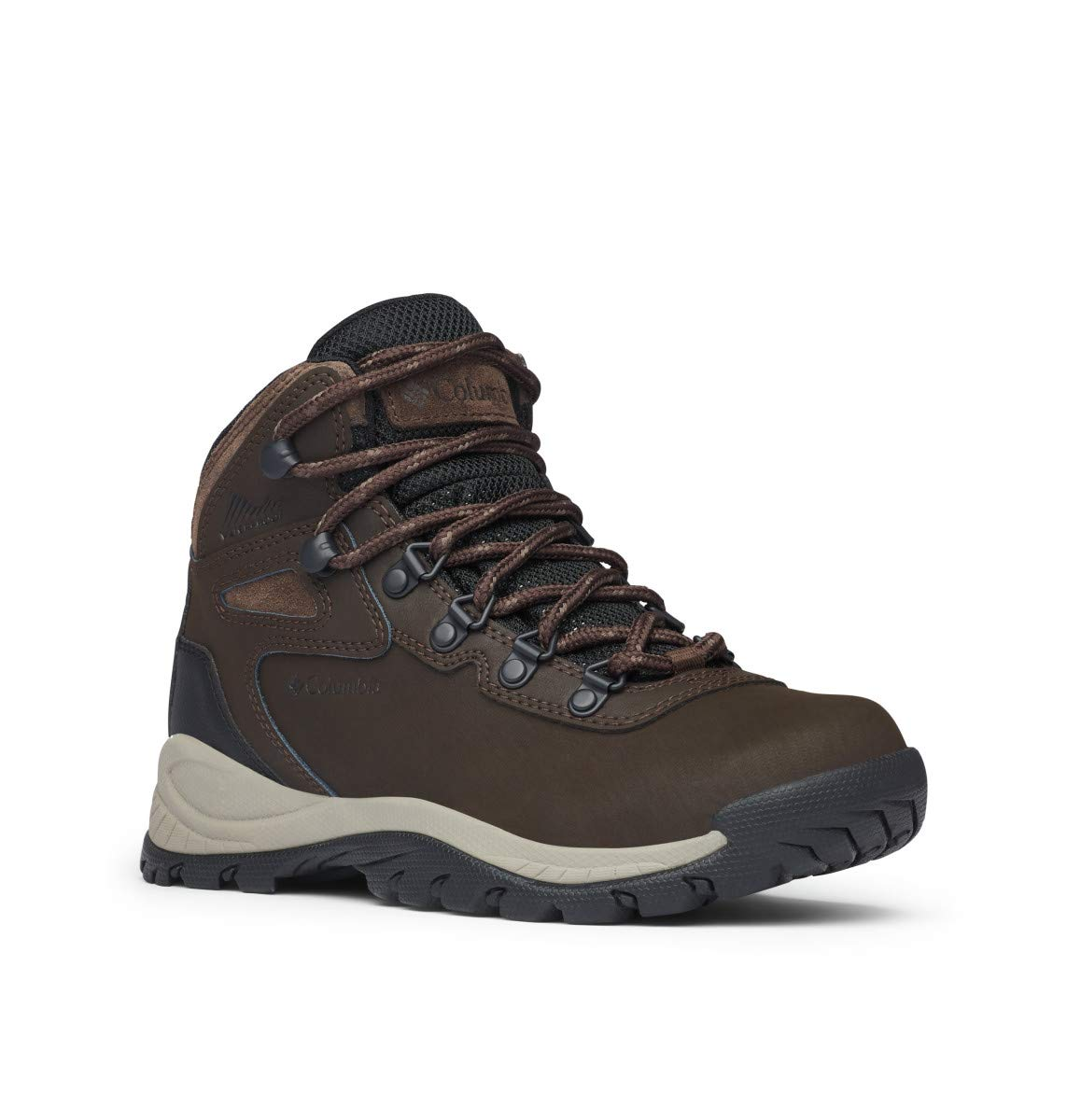 Columbia Women's Newton Ridge Plus-Wide Hiking Boot,Cordovan/Crown Jewel,9.5 W US by Columbia