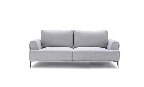 Meubletmoi sofá 3 plazas - Tejido Gris modulable (Carpetas ...