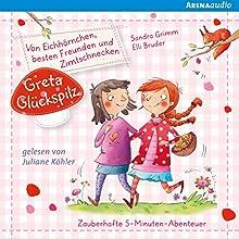 Von Eichhörnchen, besten Freunden und Zimtschnecken (Greta Glückspilz 1) Hörbuch von Sandra Grimm Gesprochen von: Juliane Köhler