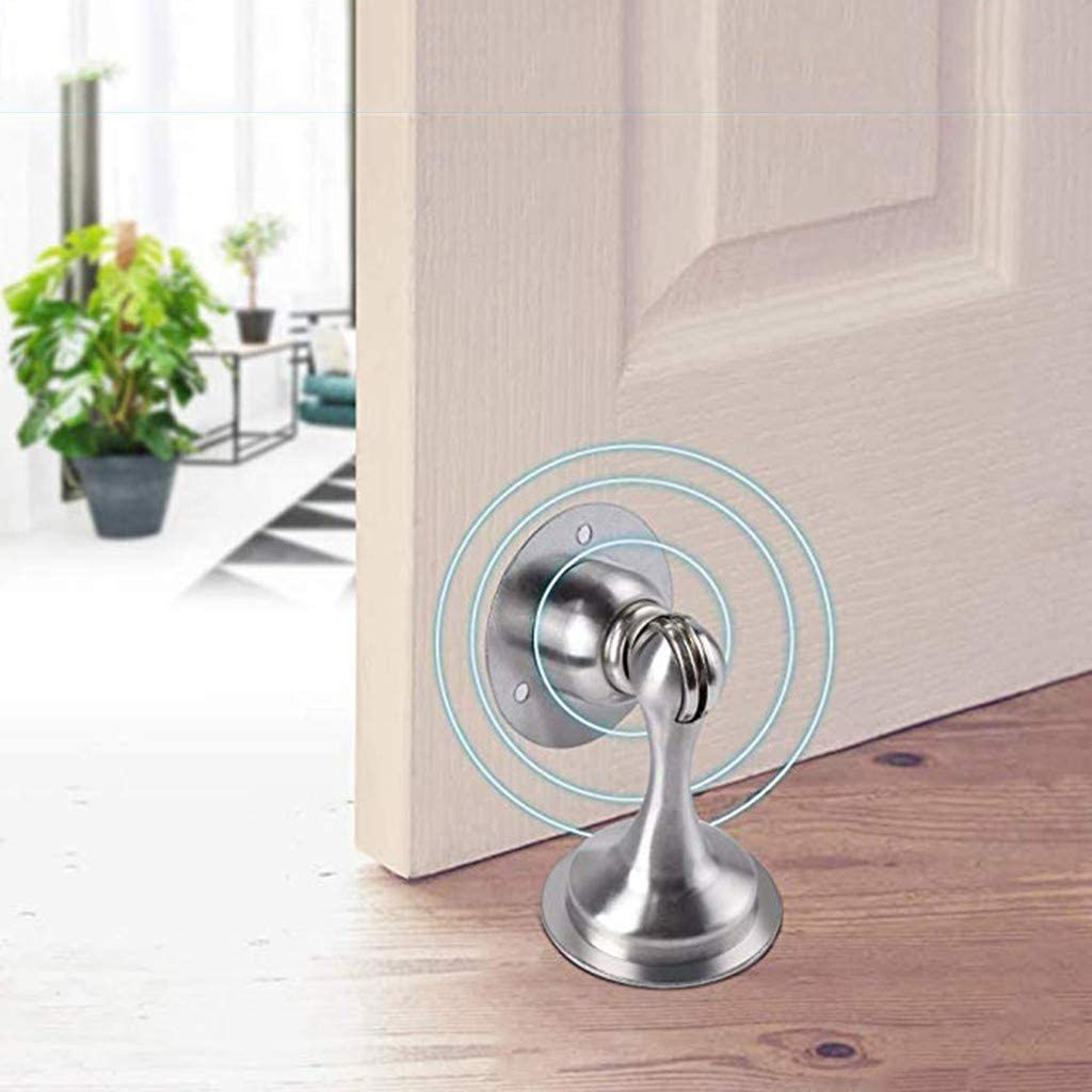 Xindda Stainless Steel Strong Magnetic Door Stop Stopper Holder Catch Door Suction Description: A