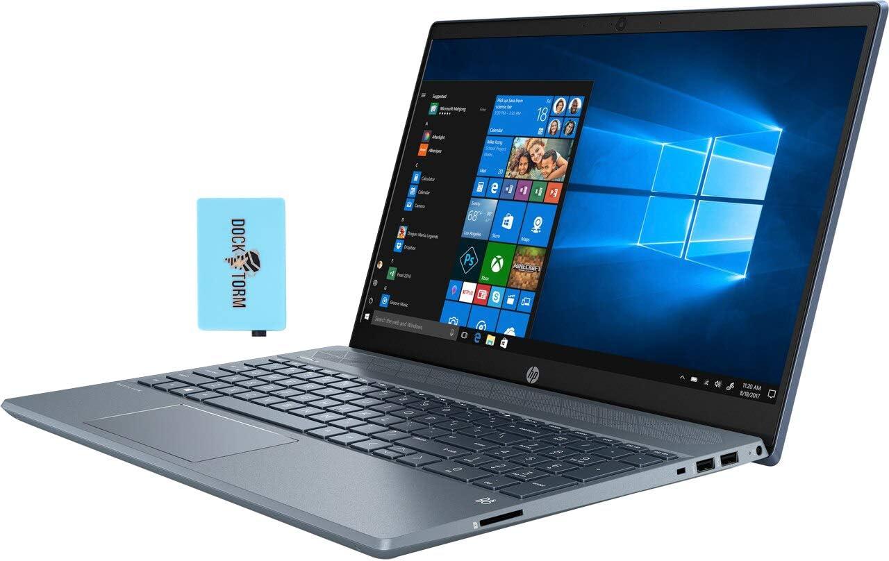 "HP Pavilion 15-cw1069wm Home and Business Laptop (AMD Ryzen 5 3500U 4-Core, 16GB RAM, 2TB HDD, AMD Vega 8, 15.6"" Touch Full HD (1920x1080), WiFi, Bluetooth, Webcam, 2xUSB 3.1, Win 10 Home) with Hub"