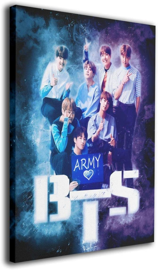 Amazon Com Bts Army Bts Fan Art Art Artic None Frame Home Decorative Painting For Living Room Bedroom 16 X20 Kitchen Dining
