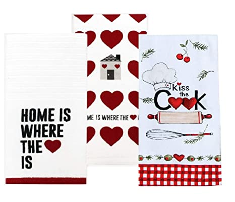 Incredible Amazon Com Home Is Where The Heart Is Kiss The Cook Home Interior And Landscaping Eliaenasavecom
