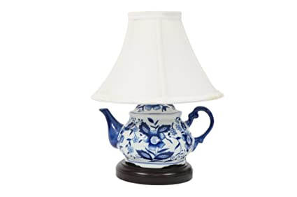 base teapot accent lamp small table amazon silver com dp