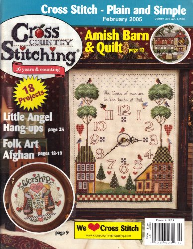 (Cross Country Stitching (February 2005, Vol. 16, No. 6))