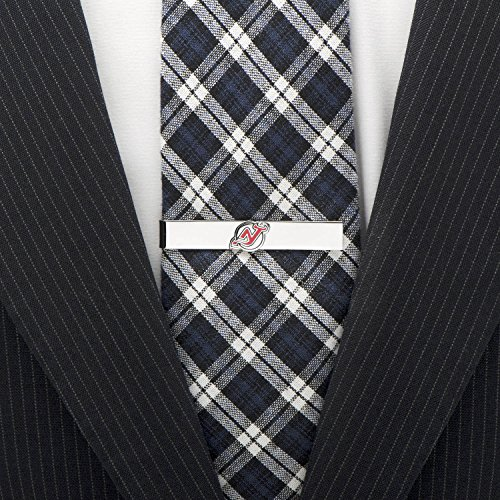 NHL New Jersey Devils Tie Bar, Officially Licensed by Cufflinks (Image #2)