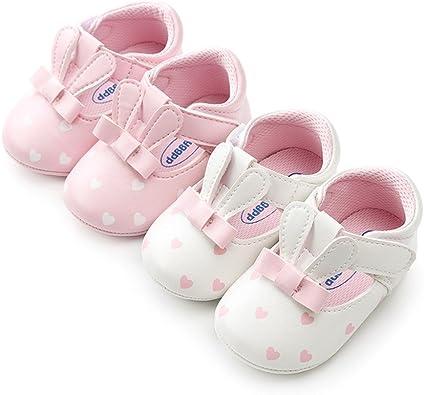 BOBORA Baby Girl Shoes, Easter Cute