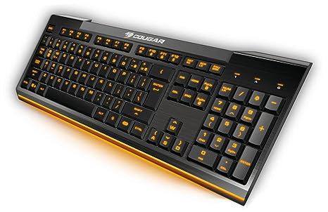 Cougar Teclado de Juego 200K - Sensación Estilo Laptop: Amazon.es: Electrónica