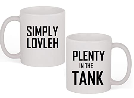 Simply Lovleh Cup - Plenty In The Tank Mug  sc 1 st  Amazon UK & Simply Lovleh Cup - Plenty In The Tank Mug: Amazon.co.uk: Kitchen \u0026 Home