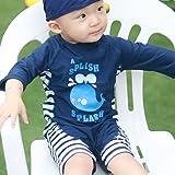 Toddler Baby Boy Summer Long Sleeve One Piece Rash