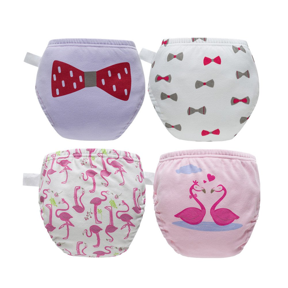 Skhls Toddler Baby Girl Boy Potty Training Pants Cute Diaper Nappy