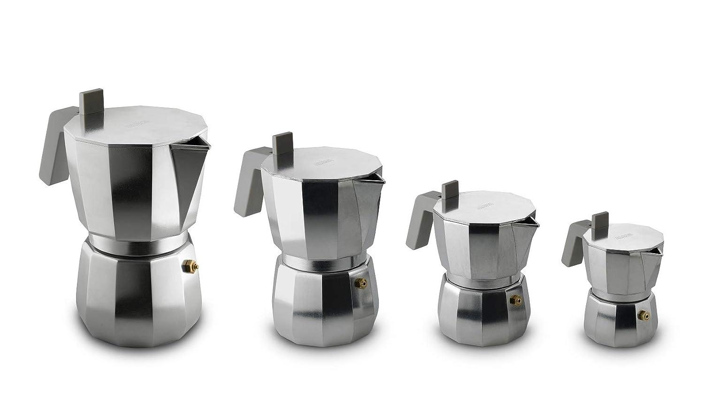 Alessi DC06/9 FM Cafetera espresso, acero inoxidable: Amazon.es: Hogar