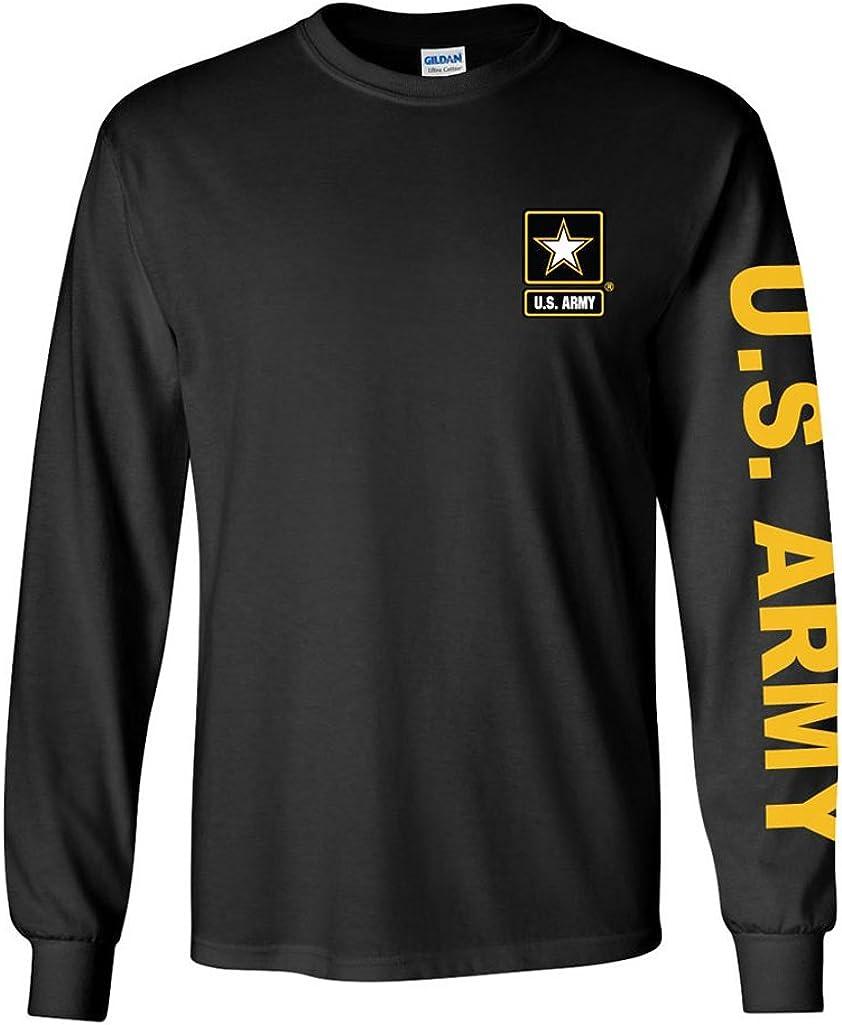 U.S. Army long sleeve T-shirt. Black