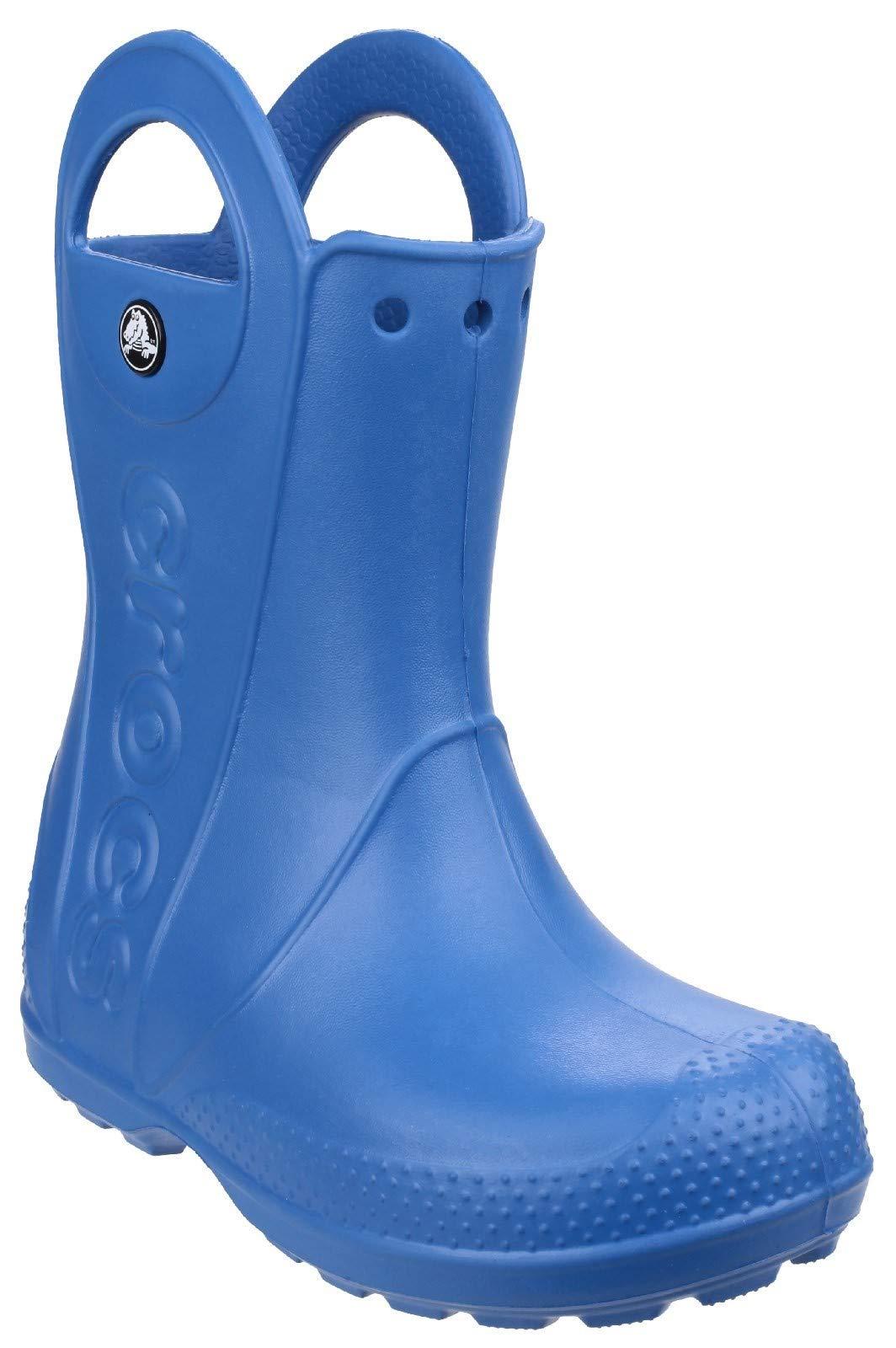 Crocs Kids' Handle It Rain Boot - 12803 Sea Blue
