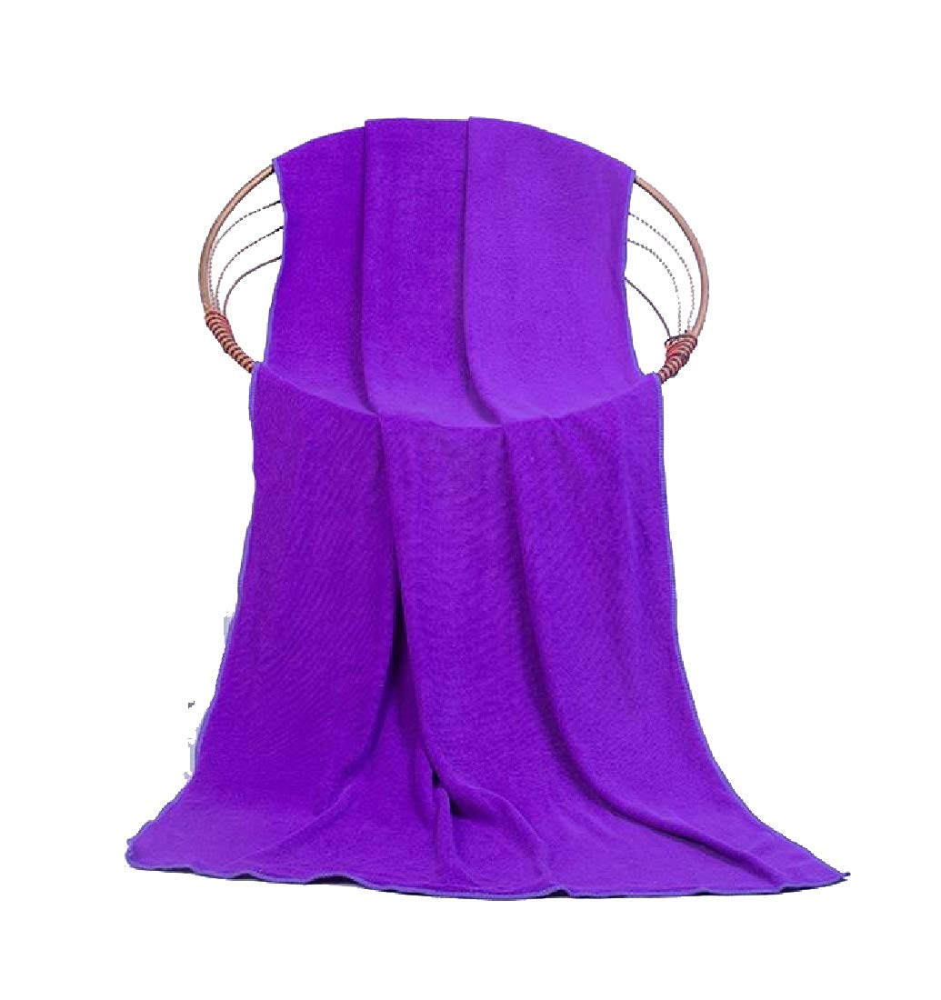 CuteRose Quality Soft Chic Quick Drying Soft Ideal for Everyday use Cute Stylish Everyday Premium Multipurpose Ultra Absorbent Flattering Dressy Bath Towel Set Purple 28in55in