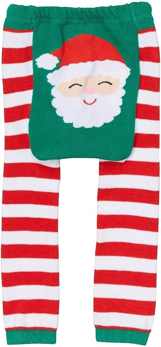 Girl Santa Cotton Legging Doodle Pants Unisex Baby Boy