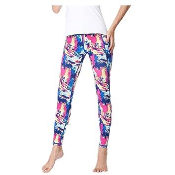 Techecho - Pantalones de Yoga para Mujer con Estampado ...