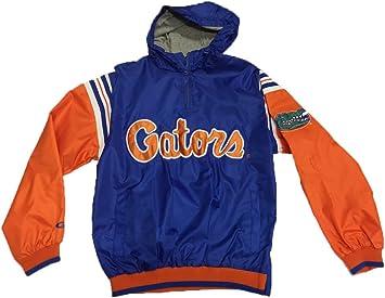 Florida Gators Mens Lined Nylon Pullover Jacket
