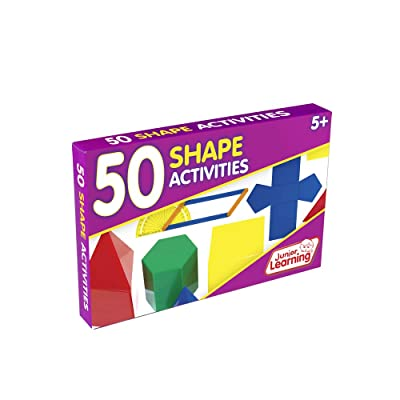 Junior Learning 50 Shape Activities: Toys & Games