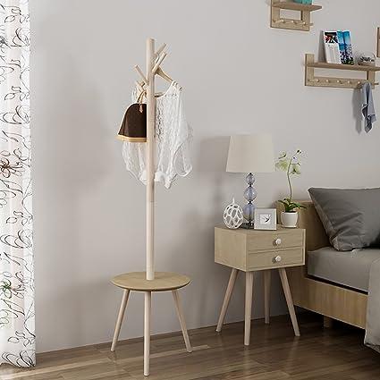 Perchero Nórdico Percha de Suelo Perchero Simple Dormitorio ...
