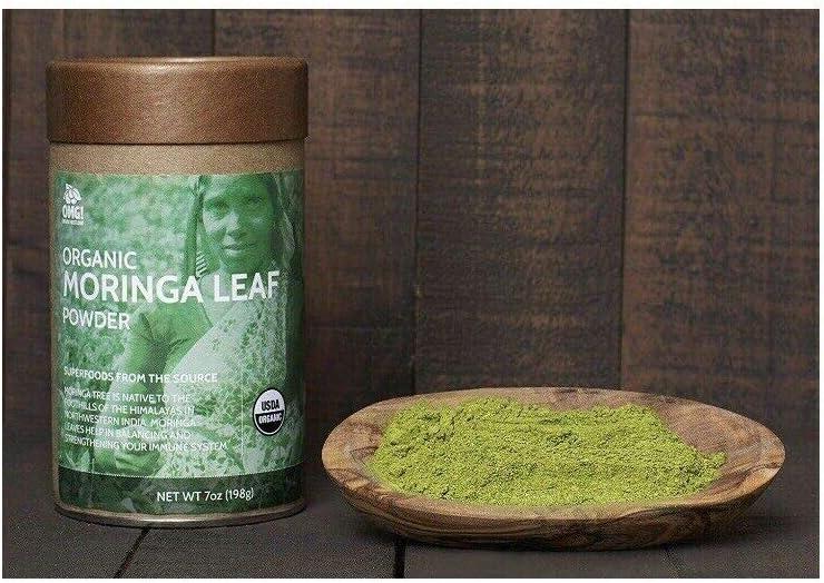 OMG! Organic Meets Good Organic, Moringa Leaf Powder, 7 oz (198 g)
