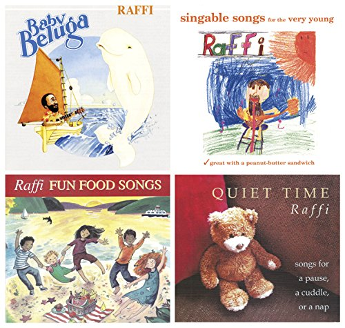 Singable Songs Collection - School Specialty Raffi CD Collection Set 1, Set of 4