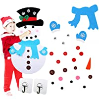 Kungfu Mall Felt Snowman DIY Felt Christmas Snowman