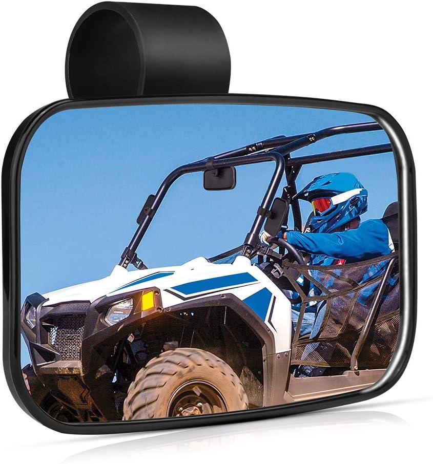 u-Box Side by Side Mirror UTV Wide Rear View Race Mirror Convex Mirror
