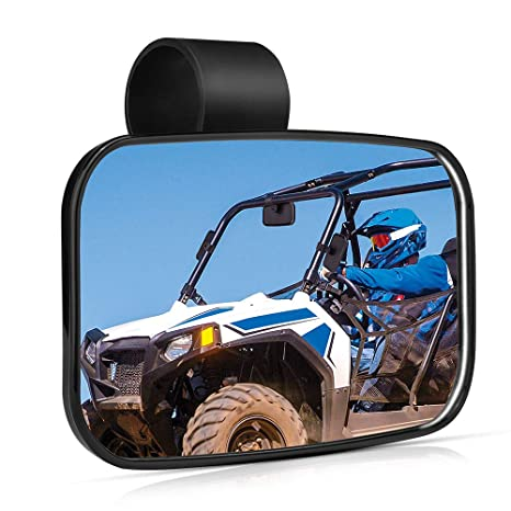 Best Side By Side Utv 2020.2020 Utv Mirror Issyzone High Definition Mirror With Shatterproof Tempered Glass And 1 5 2 Mount For 2020 Polaris Rzr Pro Xp Can Am Commander And