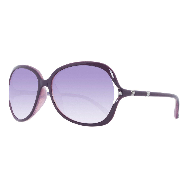 83796fe2b82 Guess Women Sunglasses Purple GUF216-PUR-58  Amazon.co.uk  Clothing