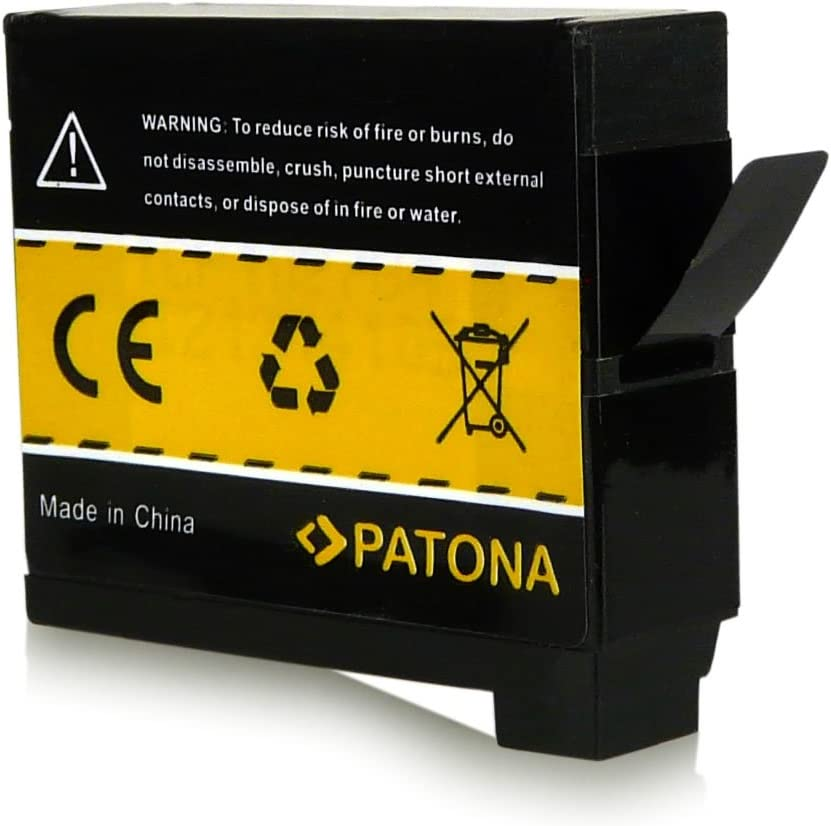 PATONA 2x Battery AHDBT-401 compatible with GoPro Hero 4 with reliable and tested quality
