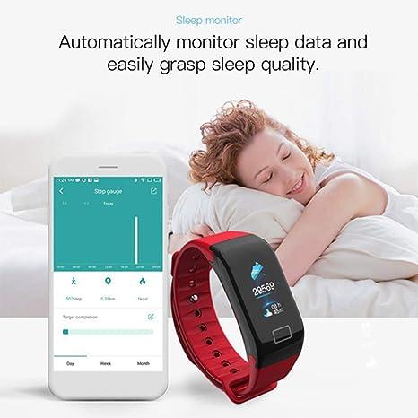 JDTECK HTC U11 Fitness Bracelet, podómetro Smartwatch con ...