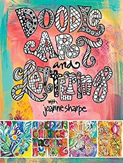 Book Cover: Doodle Art and Lettering with Joanne Sharpe: Inspiration and Techniques for Personal Expression