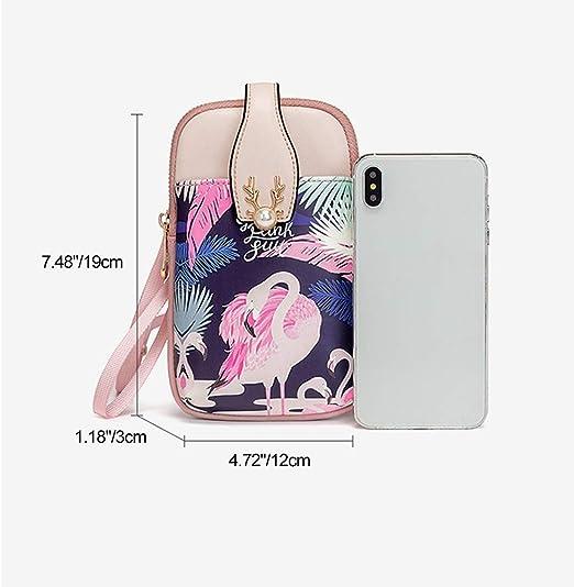 Handy Umh/ängetasche Damen,Aeeque Handytasche mit Geldb/örse zum Umh/ängen Leder,Handytasche zum Umh/ängen mit Verstellbar Schultergurt kompatibel mit iPhone 11 Samsung Galaxy A51 S20 S7 Blau