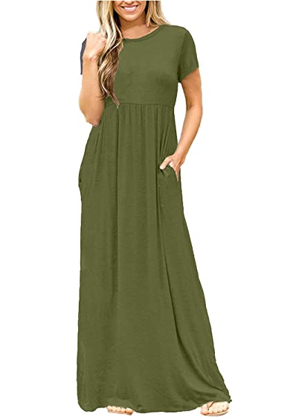 Plain Loose Dress