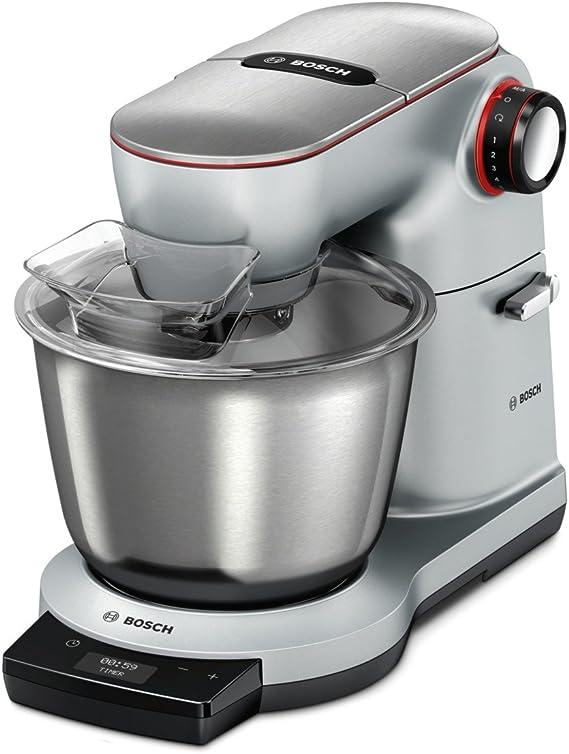 Bosch MUM9AD1S00 - Robot de cocina (5,5 L, Plata, Giratorio, Tocar ...