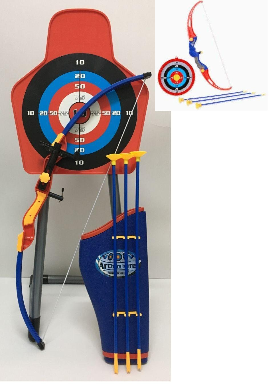 Paradise Treasures Sport Archery Set With Target Stand Quiver and Laser beam attachment Sight