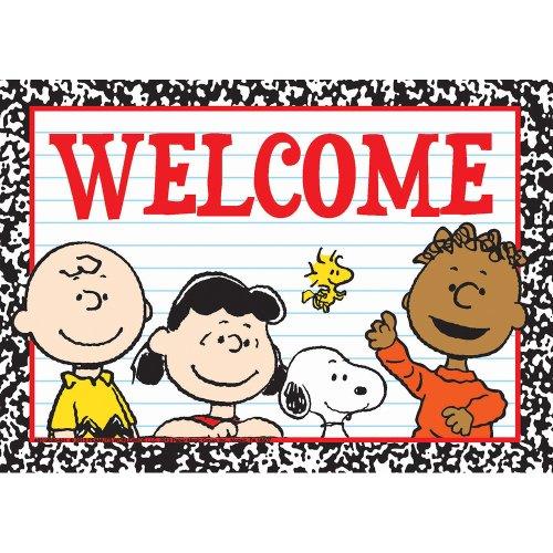 Eureka Peanuts Welcome Teacher Cards