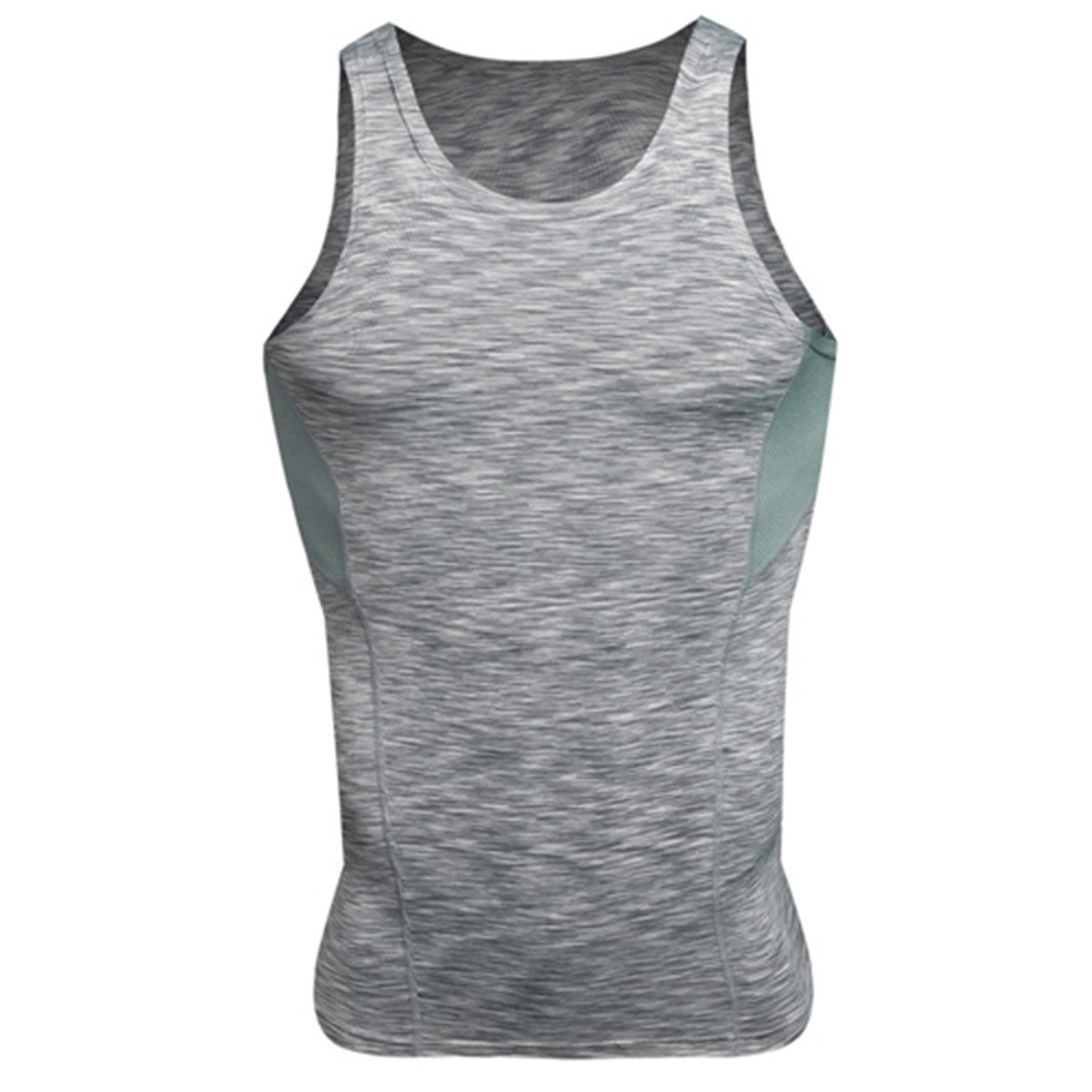 be016e243856e Amazon.com  Chiced Quick Dry Running Vest Training Sleeveless Man s T-Shirt  Workout Sport Suit Fitness Tights Gym Men Tank Top  Clothing