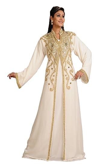 2c5f16ecfd8 Maxim Creation Women's Moroccan Kaftan Abaya Dress: Amazon.co.uk ...